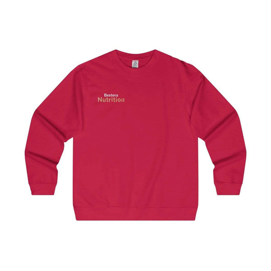Bextera Nutrition Gear Sweatshirt Red / S Men's Midweight Crewneck Sweatshirt in 5 colors