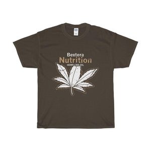 Bextera Nutrition Gear T-Shirt Dark Chocolate / S Our Unisex Heavy Cotton Tee in huge selection of colors