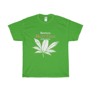 Bextera Nutrition Gear T-Shirt Electric Green / S Our Unisex Heavy Cotton Tee in huge selection of colors