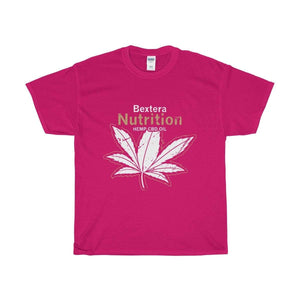 Bextera Nutrition Gear T-Shirt Heliconia / S Our Unisex Heavy Cotton Tee in huge selection of colors