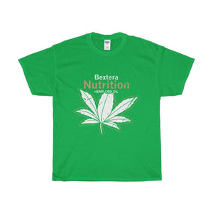Bextera Nutrition Gear T-Shirt Irish Green / S Our Unisex Heavy Cotton Tee in huge selection of colors