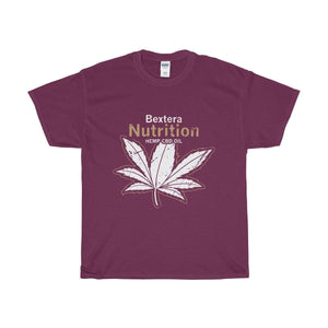 Bextera Nutrition Gear T-Shirt Maroon / S Our Unisex Heavy Cotton Tee in huge selection of colors