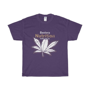 Bextera Nutrition Gear T-Shirt Purple / S Our Unisex Heavy Cotton Tee in huge selection of colors