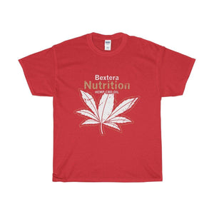 Bextera Nutrition Gear T-Shirt Red / S Our Unisex Heavy Cotton Tee in huge selection of colors