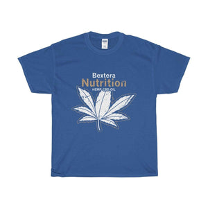 Bextera Nutrition Gear T-Shirt Royal / S Our Unisex Heavy Cotton Tee in huge selection of colors