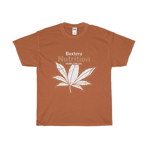 Bextera Nutrition Gear T-Shirt Texas Orange / S Our Unisex Heavy Cotton Tee in huge selection of colors