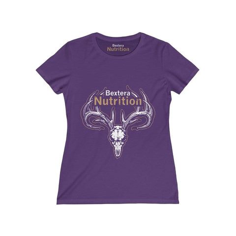 Bextera Nutrition Gear T-Shirt Purple / S Women's Missy Tee - in 8 great colors!