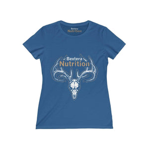 Bextera Nutrition Gear T-Shirt Royal / S Women's Missy Tee - in 8 great colors!