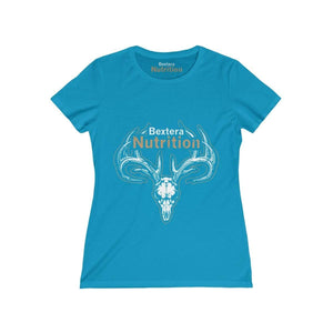 Bextera Nutrition Gear T-Shirt Turquoise / S Women's Missy Tee - in 8 great colors!
