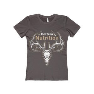 Bextera Nutrition Gear T-Shirt Solid Dark Chocolate / S Women's The Boyfriend Tee- Available in 16 great colors!