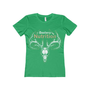 Bextera Nutrition Gear T-Shirt Solid Kelly Green / S Women's The Boyfriend Tee- Available in 16 great colors!