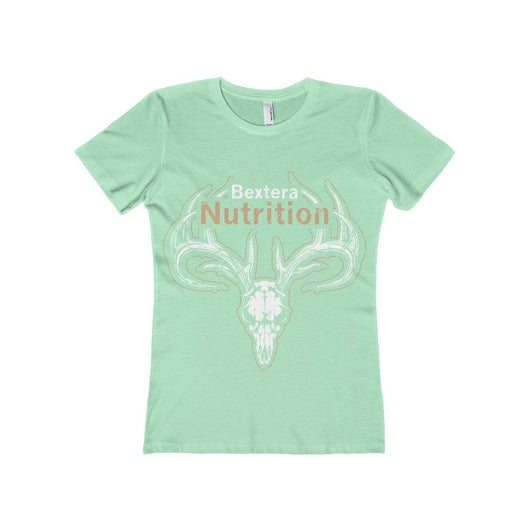 Bextera Nutrition Gear T-Shirt Solid Mint / S Women's The Boyfriend Tee- Available in 16 great colors!