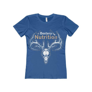Bextera Nutrition Gear T-Shirt Solid Royal / S Women's The Boyfriend Tee- Available in 16 great colors!