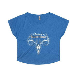 Bextera Nutrition Gear T-Shirt S / Tri-Blend Vintage Royal Women's Tri-Blend Dolman - choose from 8 awesome colors