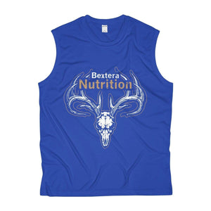 Bextera Nutrition Gear Tank Top True Royal / XS Men's Sleeveless Performance Tee- 4 great color options!