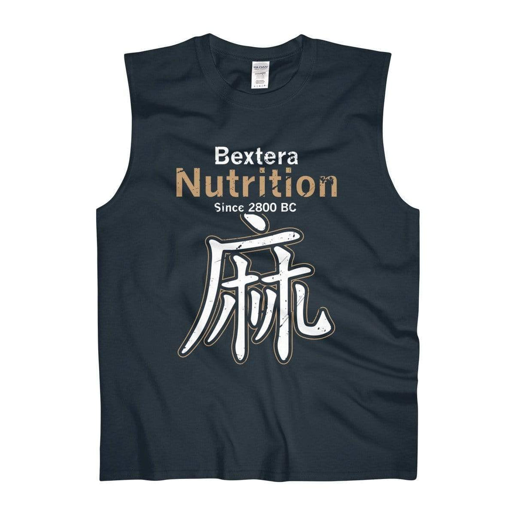 Men's Ultra Cotton Sleeveless Tank - Bextera Nutrition