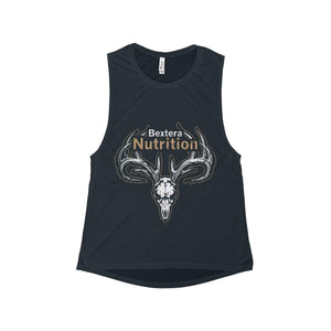Women's Flowy Scoop Muscle Tank - Bextera Nutrition