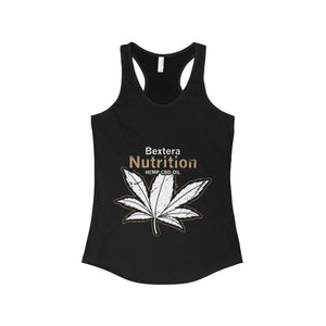 Bextera Nutrition Gear Tank Top Solid Black / XS Women's Ideal Racerback Tank