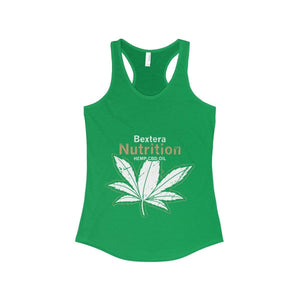 Bextera Nutrition Gear Tank Top Solid Kelly Green / XS Women's Ideal Racerback Tank