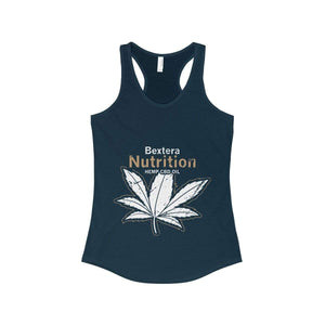 Bextera Nutrition Gear Tank Top Solid Midnight Navy / XS Women's Ideal Racerback Tank