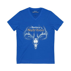 Unisex Jersey Short Sleeve V-Neck Tee- in 6 great colors! - Bextera Nutrition