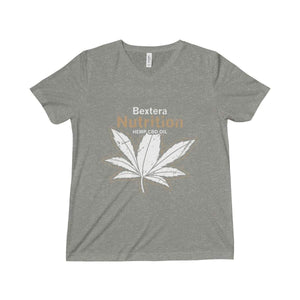 Bextera Nutrition Gear V-neck Grey TriBlend / M Unisex Triblend Short Sleeve V-Neck Tee