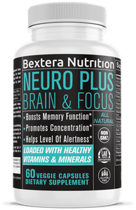 Bextera Nutrition - Neuro Plus Brain & Focus | Bextera Nutrition