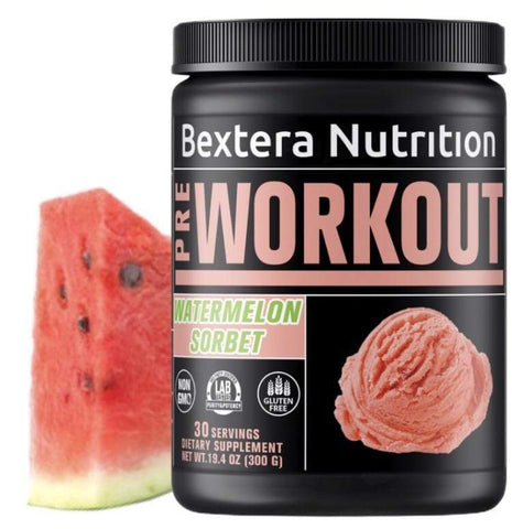 Bextera Nutrition - Pre-Workout Watermelon Sorbet - Bextera Nutrition