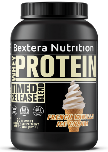 Bextera Nutrition - Timed Release Protein - French Vanilla Ice Cream - Bextera Nutrition