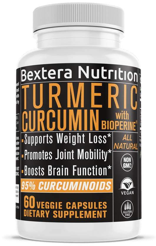 Bextera Nutrition Turmeric With BioPerine- Advanced Strength - Bextera Nutrition