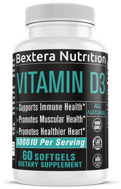 Bextera Nutrition - Vitamin D3 with K2 - Bextera Nutrition