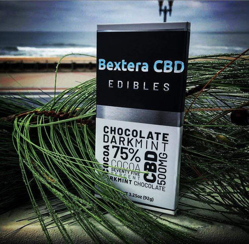CBD Chocolate -Artisan Mint 500mg CBD Chocolate Bar - Bextera Nutrition
