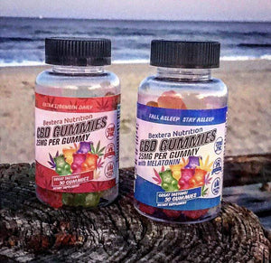 CBD Gummies for Sleep I 25mg CBD Edibles I 750mg Bottle