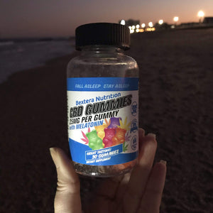 CBD Gummies for Sleep I 25mg CBD Edibles I 750mg Bottle - Bextera Nutrition