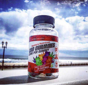 CBD gummies - 25mg CBD per Gummy Bear