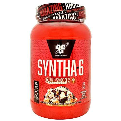BSN Syntha-6, Birthday Cake Remix, 25 Servings (2.59 lb) Supplements Default Title
