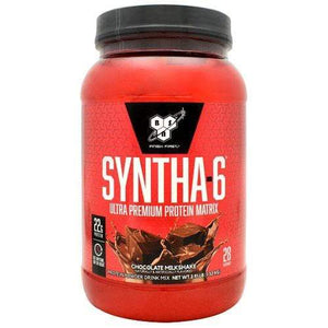 BSN Syntha-6, Chocolate Milkshake, 2.91 lbs (1.32 kg) Supplements Default Title