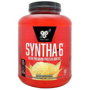 BSN Syntha-6, Vanilla Ice Cream, 5 lbs (2.27 kg) Supplements Default Title