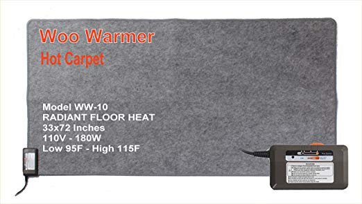 Hot Carpet 180 watt (72 x 33)