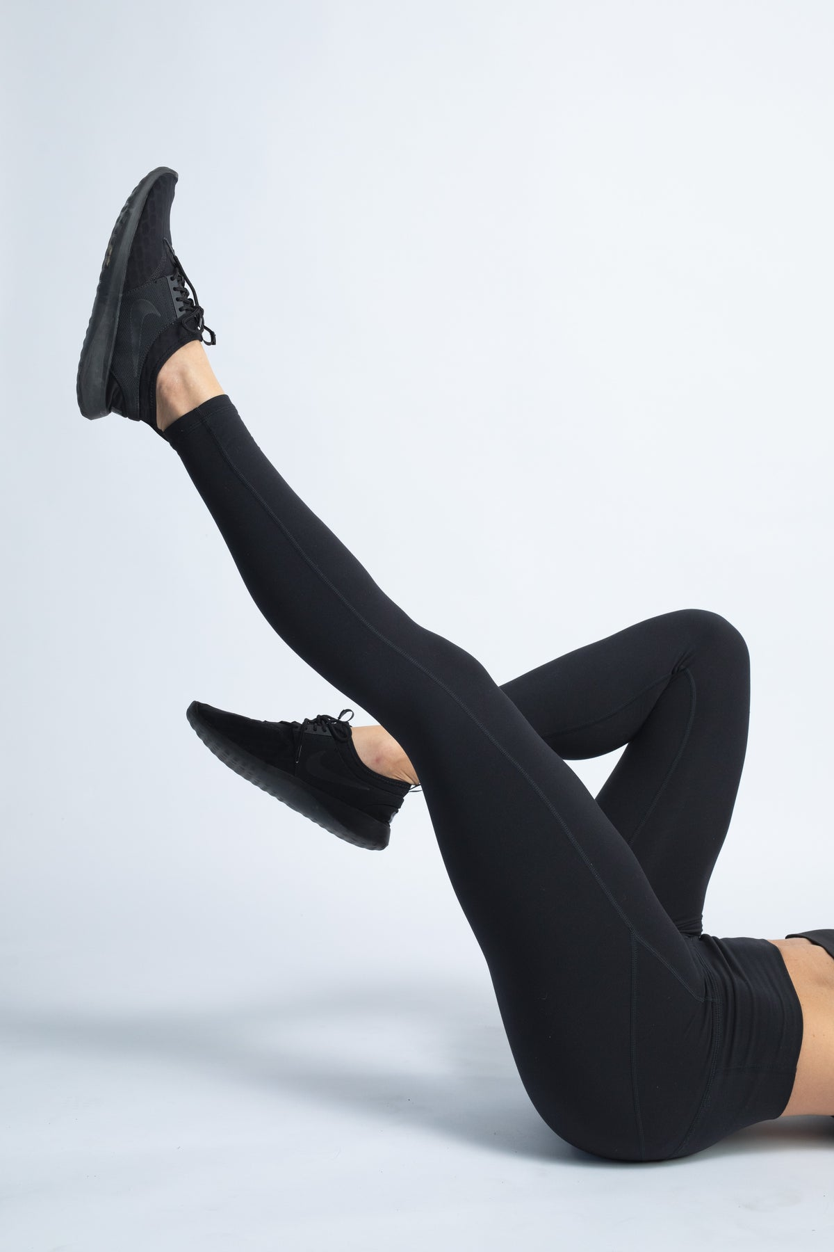 black buttery soft yoga pants full length leggings