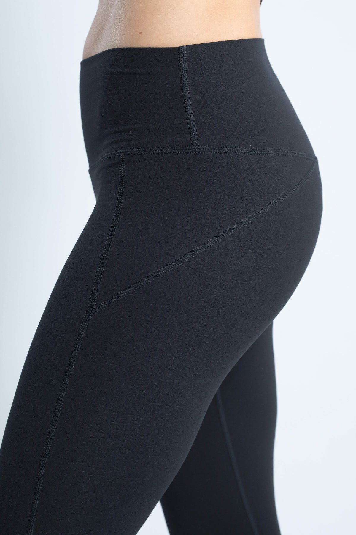 black running high performance leggings
