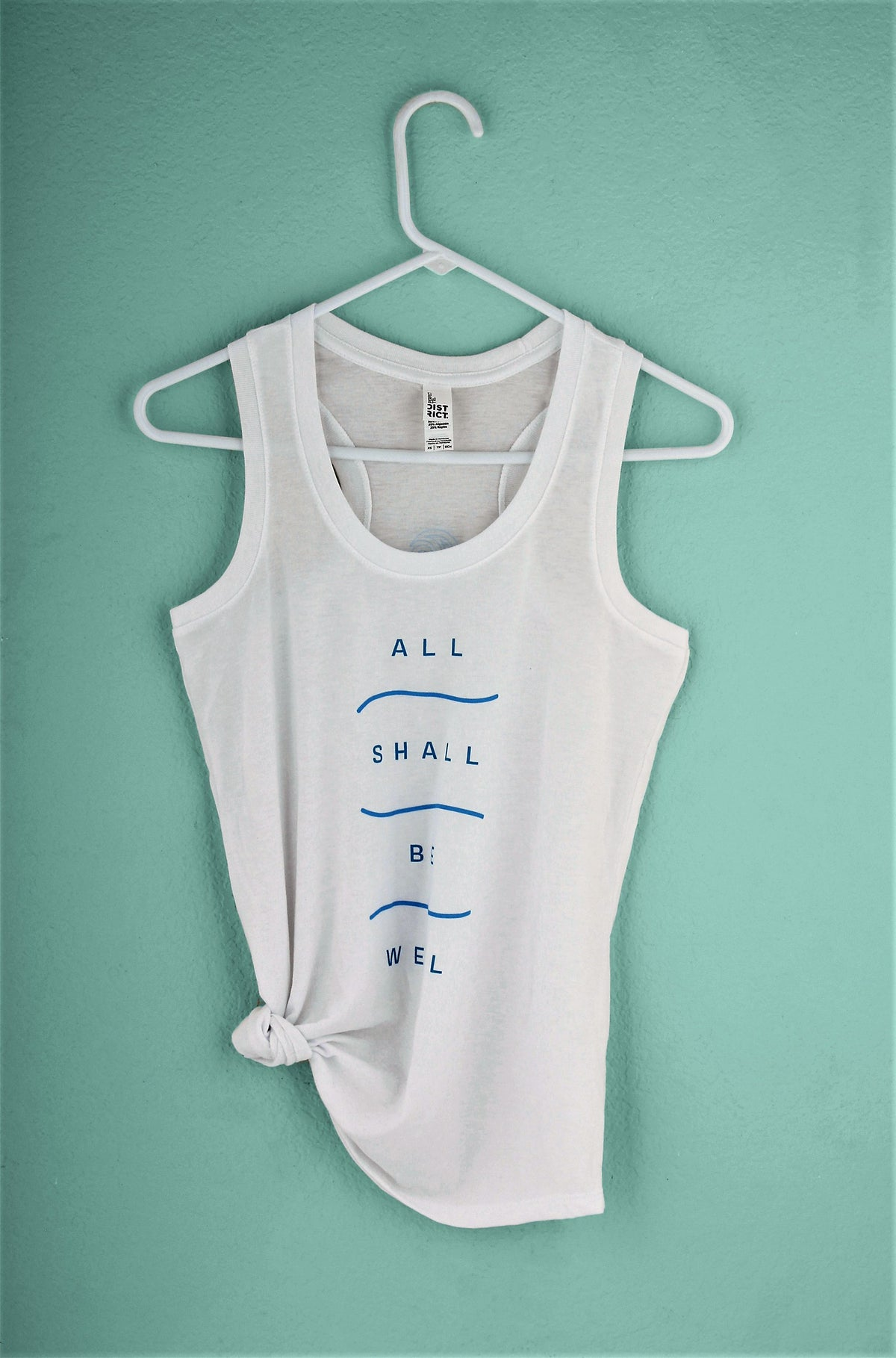 Essential Blue Surfer Girl Tank