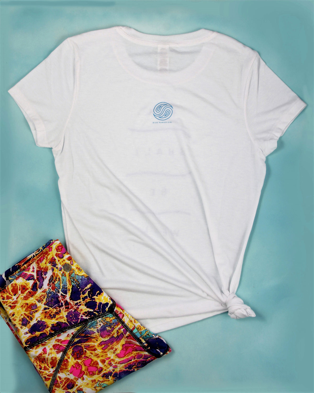 Classic Blue Surfer Girl Tee