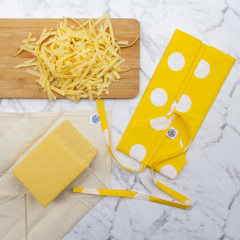 Reusable cheese wrap system