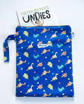 BLUE DINOSAURS | Book Bag