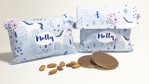 BLUE MEADOW | Sandwich & Snack Bag Set