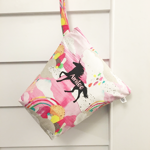 CANDY FLOSS | Personalised Wet Bag
