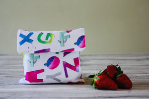 RAINBOW ALPHABET | Sandwich Bag