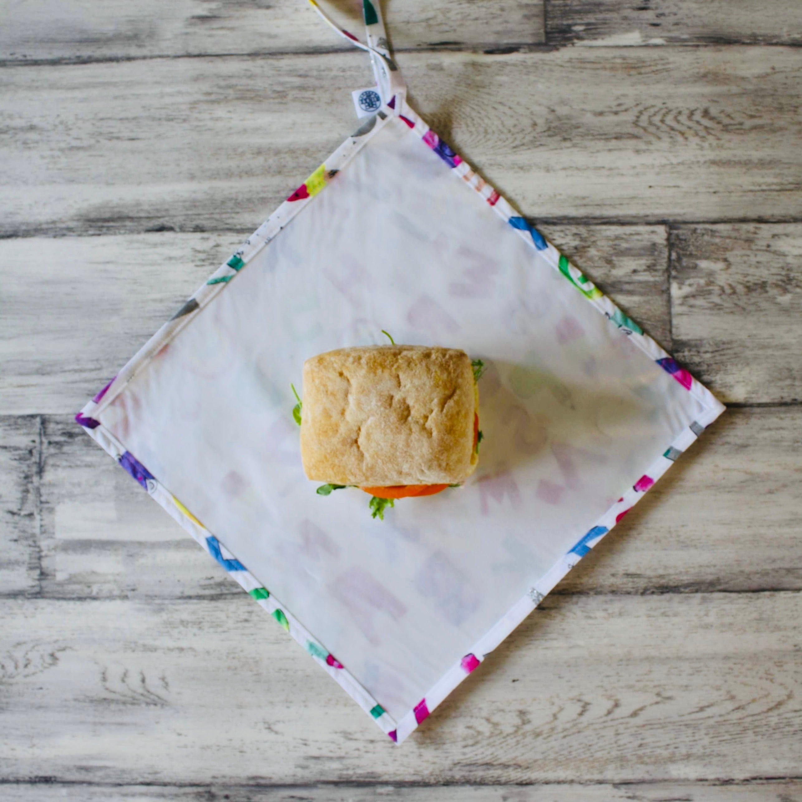 RAINBOW ALPHABET | Food Wrap