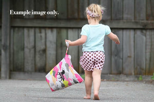 BLACK UNICORN | Personalised Wet Bag